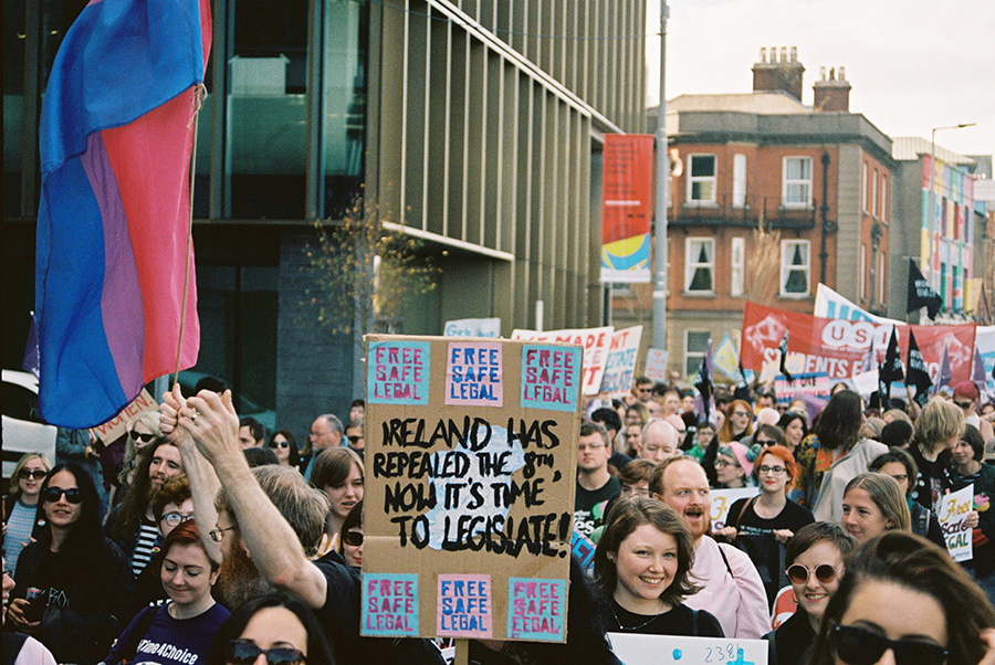 Ireland has repealed the 8th